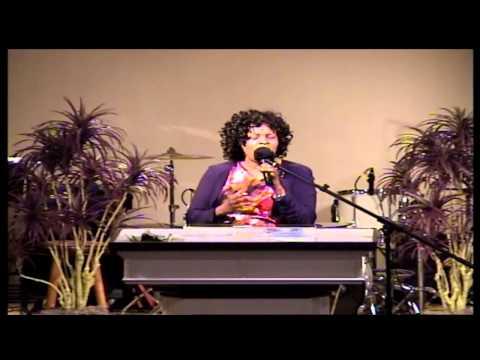 Norfolk Apostolic Church Sis. Sharp Singing 08-18-13 A.M.