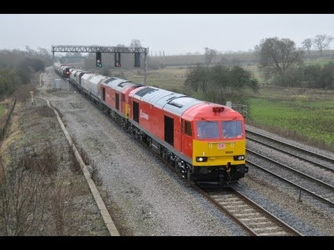 60020 & 60059 on 6H10 plus Freight Froth Friends
