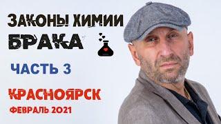 Сатья • «Законы химии брака» часть3. Красноярск, 18 февраля 2021
