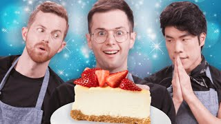The Try Guys Bake Cheesecake Without A Recipe