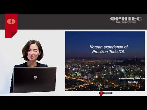 Korean experience of Precizon Toric IOL