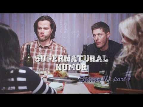 Supernatural Humor Season 11 | She's got Sparkle on her face! [1]