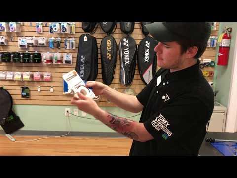 How to Apply Yonex Super Grap to Your Badminton Racquet