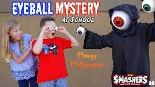 Smashers Eyeball MYSTERY at School! Ninja Kidz TV