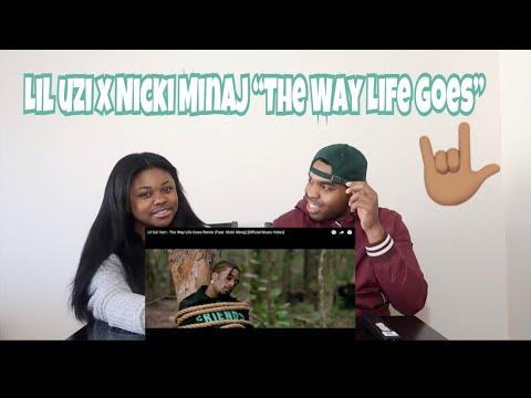 Lil Uzi Vert - The Way Life Goes Remix (Feat. Nicki Minaj) - REACTION!!! mp3