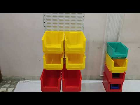 bin panel stand