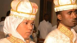 Ethiopian Orthodox Tewahido Wedding Ceremony Dn Estifanos With Hawi