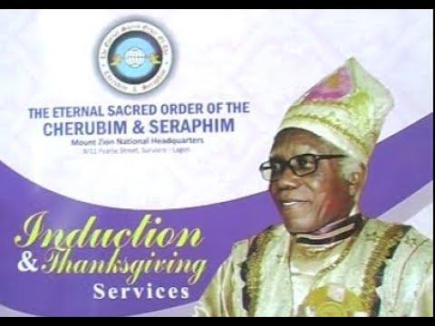 INDUCTION OF ELDER DR D L BOB MANUEL AS THE NEW BABA ALADURA