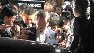 訪米+G7前日竹下派と会食する安倍総理2018.06.05