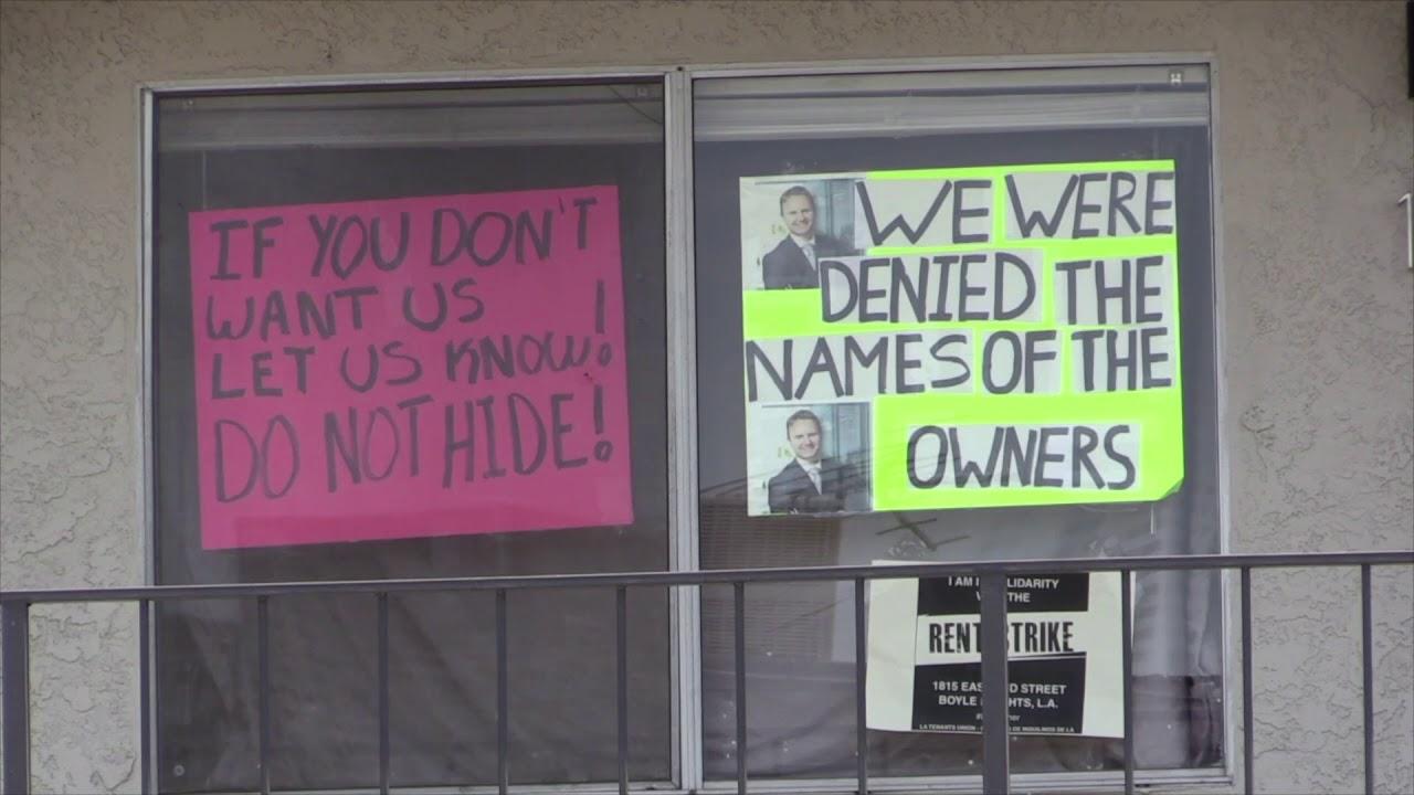 Habitantes de Boyle Heights luchan contra el alza desmedida de los alquileres