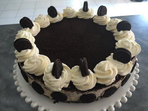 No bake Cookies and Cream Cheesecake / Oreo Cheese Cake