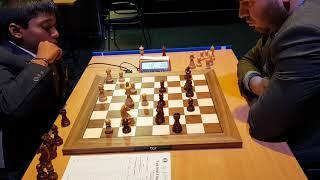 Praggnanandhaa vs Mamedyarov   Tata Steel Chess India Blitz 2018
