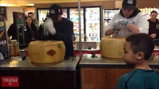 Parmageddon at Whole Foods Market in Montclair, NJ