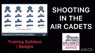 SHOOTING IN THE AIR CADETS | TRAINING SYLLABUS | BADGES | AIR CADET ADVICE