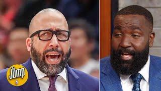 He's the problem! Not Coach Fiz! - Kendrick Perkins on Knicks prez Steve Mills   The Jump