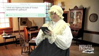 Tweets of the Rich & Famous: Martha Washington #4