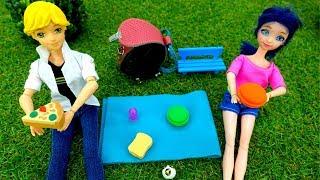 Маринетт на футболе - Видео для девочек - Игры одевалки