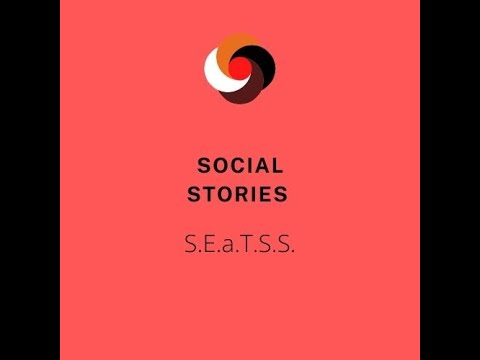 Screenshot of video: A short video explaining Social Stories by the SEaTSS Team