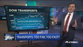 There's trouble brewing in the transports, but one name's still a buy: Technician