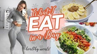 WHAT I EAT IN A DAY   HEALTHY MEAL IDEAS   12 Days of Fitmas