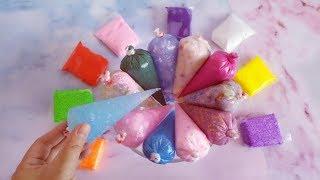 12个裱花袋加8个密封袋混合,无硼砂,最后会混出什么颜色的泥?
