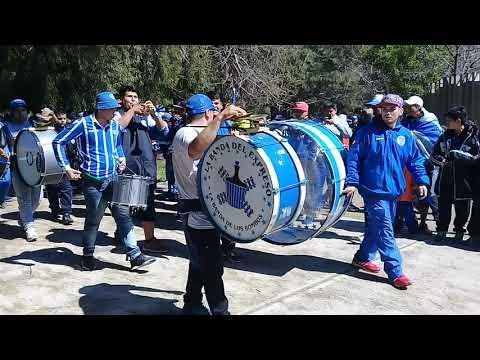 """""""BOMBO NUEVO DE GODOY CRUZ 🔵⚪🔵"""" Barra: La Banda del Expreso • Club: Godoy Cruz"""