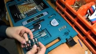 Набор инструментов и оснастки 200 шт Makita D 37194