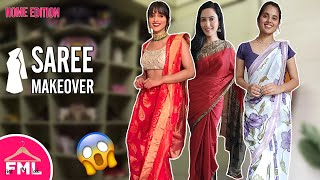 👚😮 DIY Saree Outfit Idea    Makeover Challenge By Garima Goel    FML