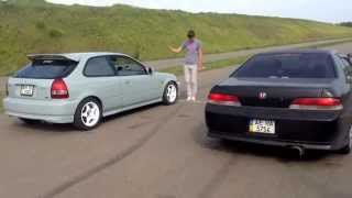 Одесса Honda Club B16A VS H22A7