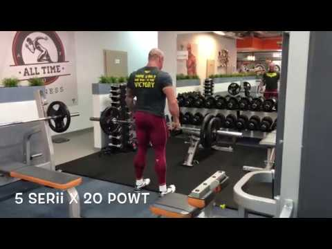 Jest to możliwe do wykonania ćwiczenia, kiedy mięśnie są nadal obolały