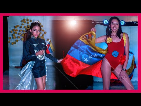 PROUD Models on Nationalist Venezuelan RUNWAY - CDM February 2019