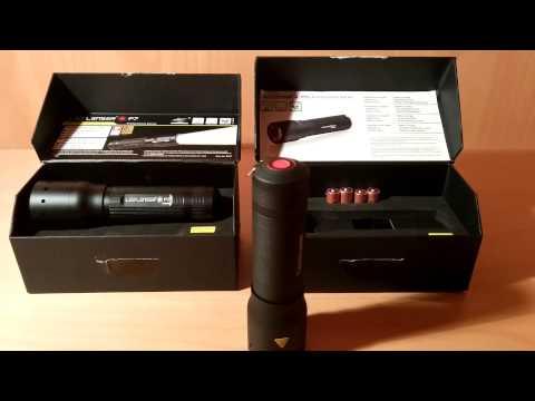 Produkttest: Profi-Taschenlampe LED LENSER P7.2