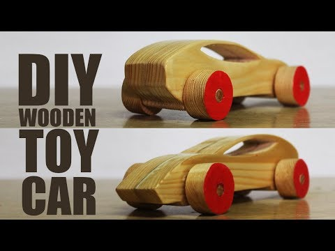 How to make a wooden toy car - DIY Wooden Toys