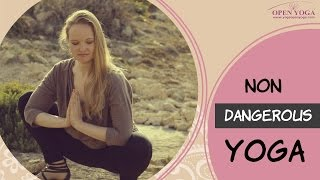 Safe yoga poses ABC workout for my first yoga class. Common mistakes in practicing Yoga for beginner