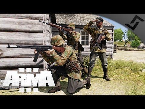 STG44 Blitzkrieg - ARMA 3 WW2 Frontline PvP - German Stormtrooper Squad