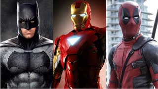 Marvel and Dc - What I Meant To Say - Daughtry - MV