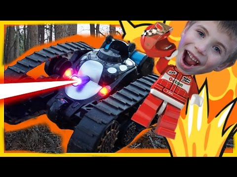 SGILE REMOTE CONTROL RC TANK Rechargeable Battle STUNT CAR for KIDS Review  – Kid Drives Car to Park