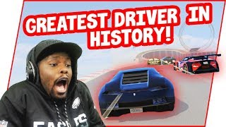 I Met The #1 GTA Online Racer Ever... In The Mirror (GTA 5 Online Race Funny Moments)
