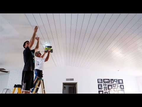 It Was All HIS Idea...Shiplap On The Ceiling! Mp3