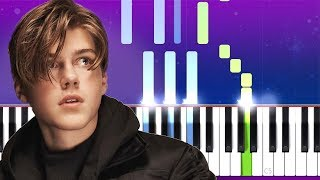 Ruel   Don't Cry (Piano Tutorial)
