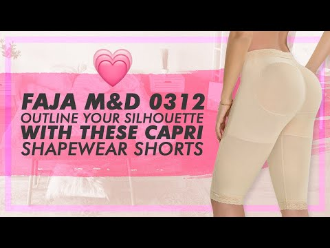 Fajas MyD 0312 Long Capri Shaper Shorts