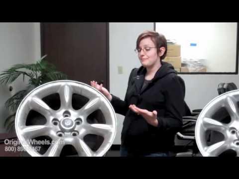 XK Rims & XK Wheels - Video of Jaguar Factory, Original, OEM, stock new & used rim Co.