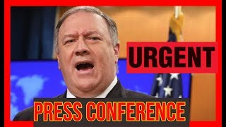 BREAKING 🔴 Trump State Department URGENT Press Conference on Sanctions
