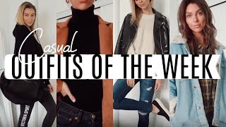 CASUAL OUTFITS OF THE WEEK