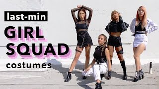 *literally* Last-Minute Baddie Girl Squad Costumes (using Clothes You Already Have)
