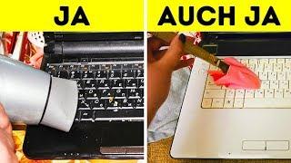10 einfache Wege, um Schmutz von deinem Computer zu entfernen