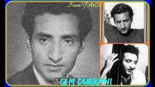 G M DURRANI & GEETA ROY~JALTE DEEP~[1950]~Nayi Ek