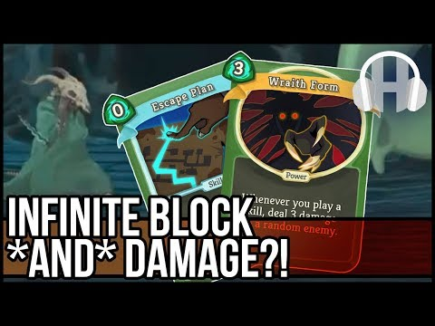 (Slay the Spire) Infinite Damage and Block? Wombo Combo Deck!