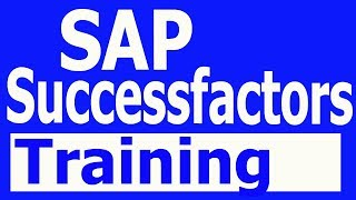 SAP Successfactors Training Videos 1 Certification Tutorial (+91-8297923103)
