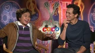 COCO Star Anthony Gonzalez Sings